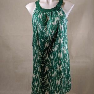 BCBG MaxAzaria Ikat Style Swing Dress - Small